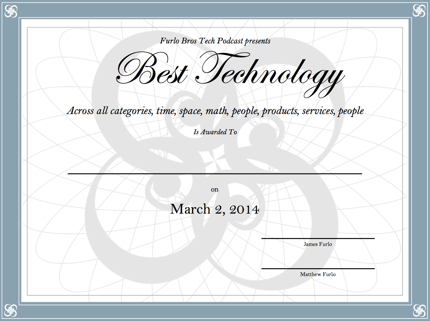 Best Techonology Award