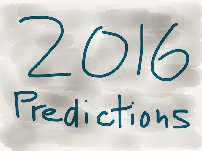 2016 Amazing Predictions
