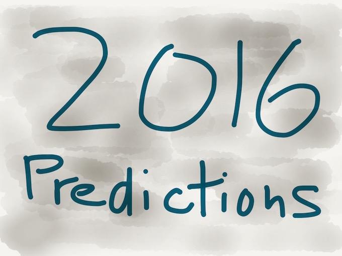 2016 Amazing Predictions