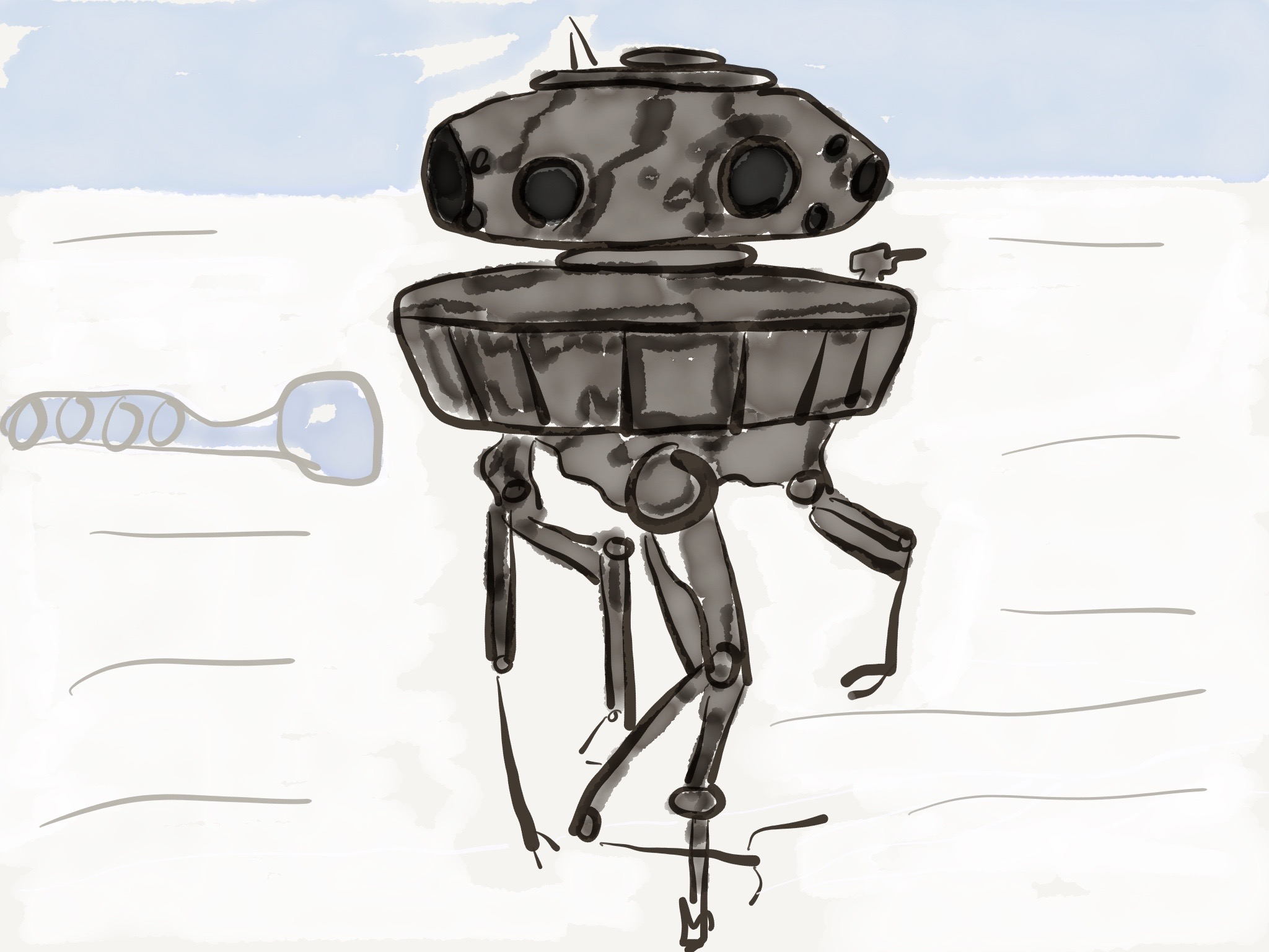 The Probe Droid Reaches Peak Tangent