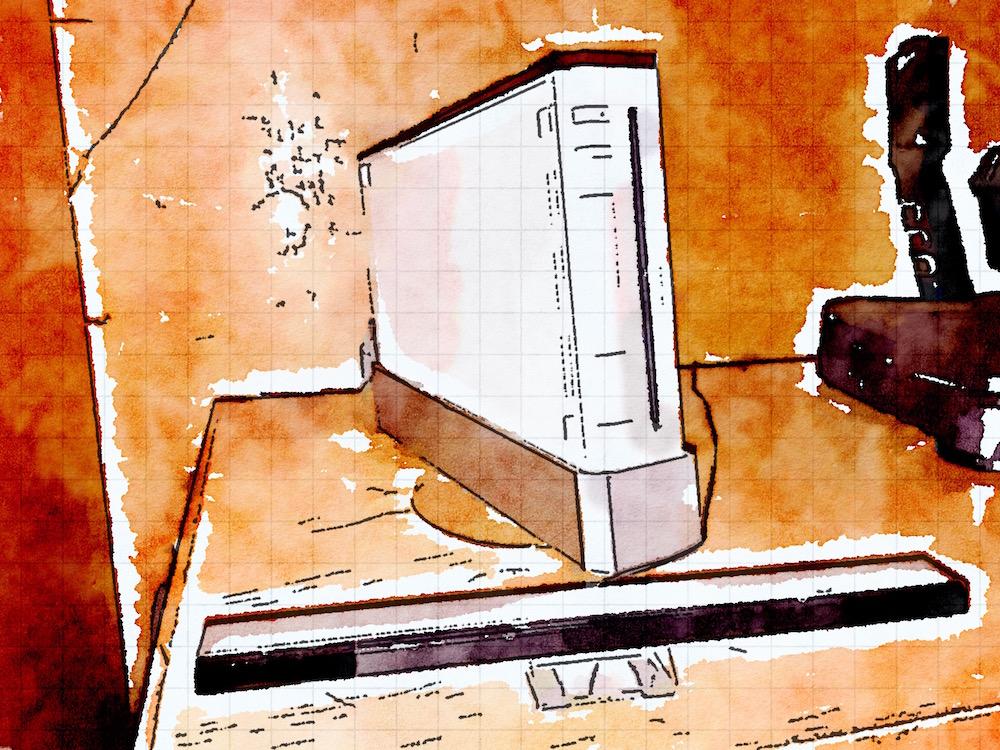 Tim Cook's Nintendo Wii